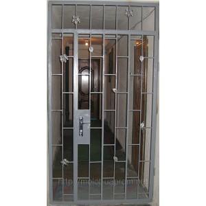Входные двери решетка