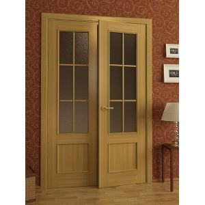 Двері шпоновані з двох половинок L2