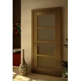 Двері шпоновані зі склом L4