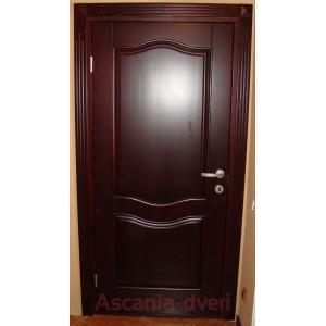 Вторые входные деревянные двери