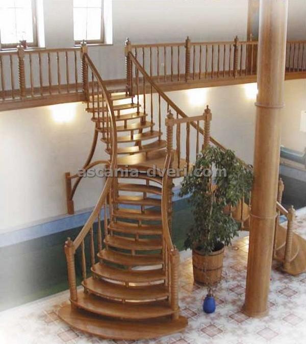 распашная поворотная лестница