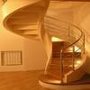 Лестницы винтовые деревянные